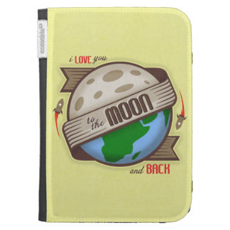 I Love You To The Moon And Back - eReader Case Kindle 3G Covers