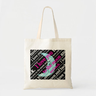 I Love You to the Moon and Back Gifts Tote Bag