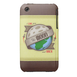 I Love You To The Moon And Back - iPhone 3GS Case