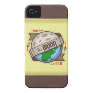 I Love You To The Moon And Back - iPhone 4 Case