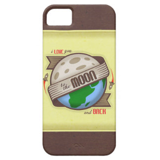I Love You To The Moon And Back - iPhone 5 Case