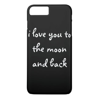 I love you to the moon and back iPhone 8 plus/7 plus case