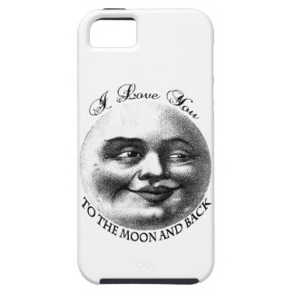I love you to the moon and back iPhone SE/5/5s case