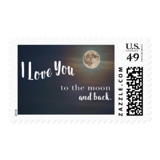 I Love You To The Moon and Back Postage