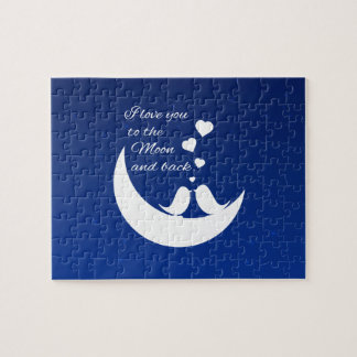 I Love You to the Moon and Back Puzzles