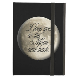 I Love You to the Moon and Back Realistic Lunar iPad Air Case
