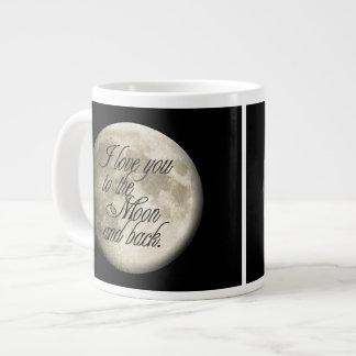 I Love You to the Moon and Back Realistic Lunar Jumbo Mug