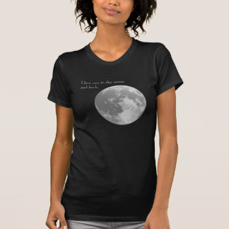 I love you to the moon and back. t shirt