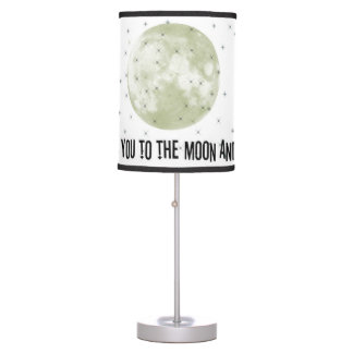 I love you to the moon and back table lamp