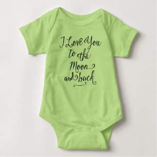 I Love You To the Moon And Back Tee Shirt