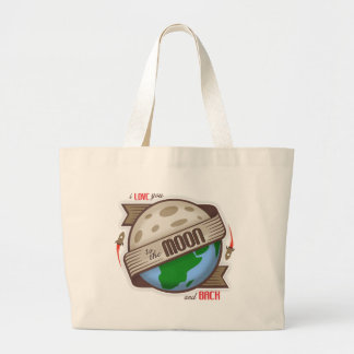 I Love You To The Moon And Back - Tote Bag