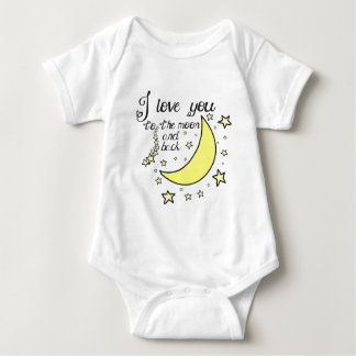 I love you to the moon and back t-shirts