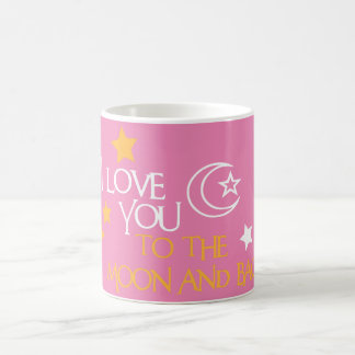 I Love You TO THE MOON AND BACK Unique Gift Friend Coffee Mug