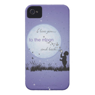 I Love You to the Moon and Back-Unique Gifts iPhone 4 Cover