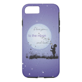 I Love You to the Moon and Back-Unique Gifts iPhone 7 Case