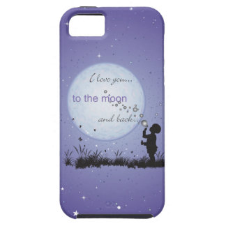 I Love You to the Moon and Back-Unique Gifts iPhone SE/5/5s Case
