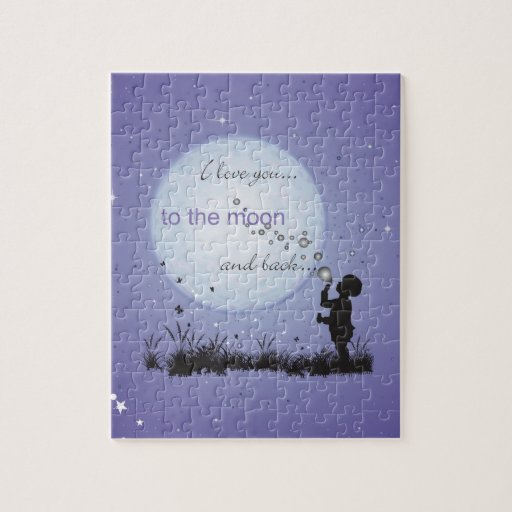 I Love You to the Moon and Back-Unique Gifts Jigsaw Puzzles