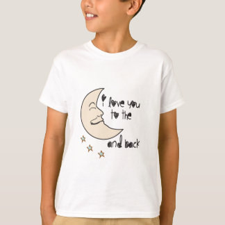I love you to the moon and back whimsical T-Shirt