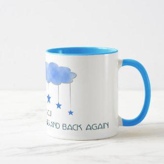 I love you to the moon and stars... mug