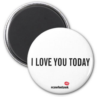I Love You Today magnet