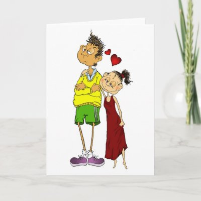 I love you too! cards by artily