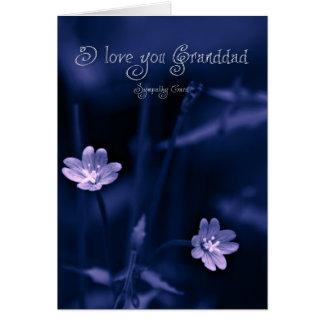 I love you too Granddad, sympathy card