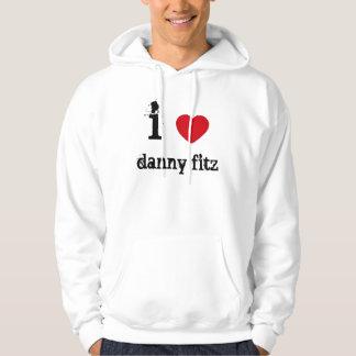i love you too... hoodie