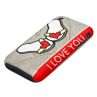 I Love You Tough iPhone 3 Cases