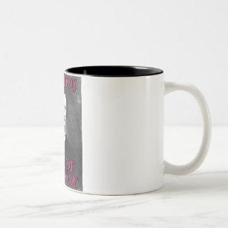 I love you... Two-Tone coffee mug