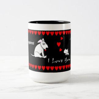 I Love You Two-Tone Mug