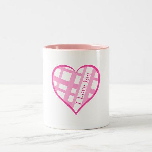 I Love You, Valentine Mug