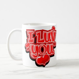 I Love You Valentine's Day Gift Mugs