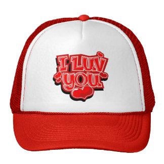 I Love You Valentine's Day Gift Trucker Hat