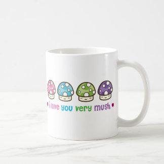 i love you very mush coffee mug