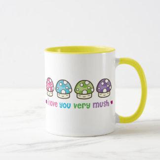 i love you very mush mug