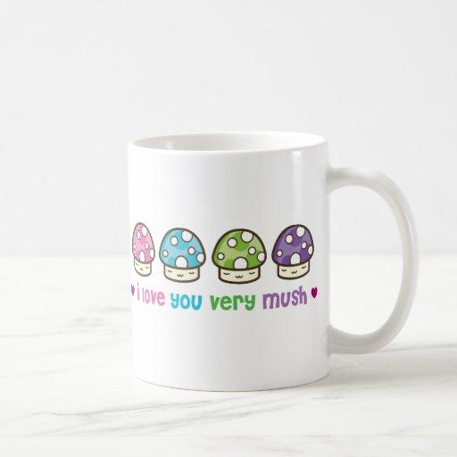 i love you very mush mugs