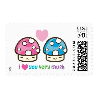 i love you very mush postage