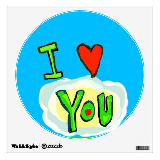 I Love You Wall Poster Wall Skins