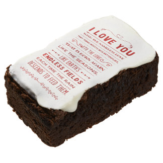 """""""I Love You With The Nameless Love…"""" Funky Chic Brownie"""