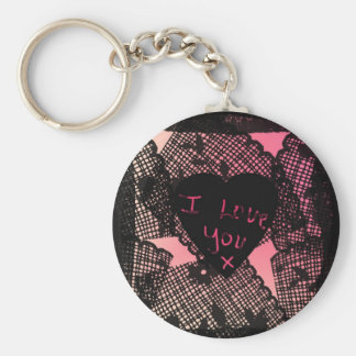 """I Love You x""* Keychain"