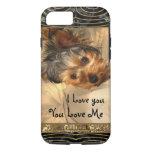 I Love You Yorkie Vii Iphone 7 Case at Zazzle