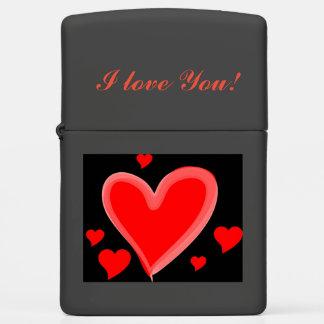 I love you Zippo Valentine's Cigarette Lighter