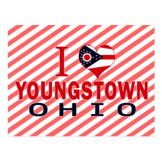 I love Youngstown, Ohio Postcard