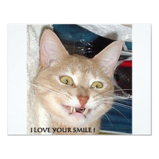 I LOVE YOUR SMILE CARD