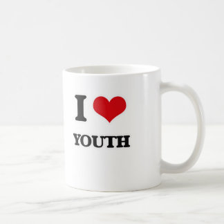 I Love Youth Coffee Mug