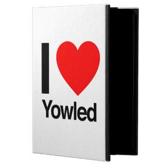 i love yowled iPad air cases