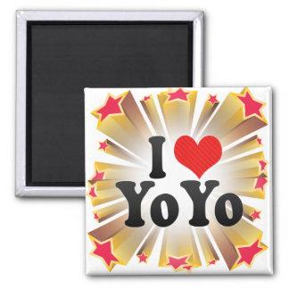 I Love YoYo Magnets