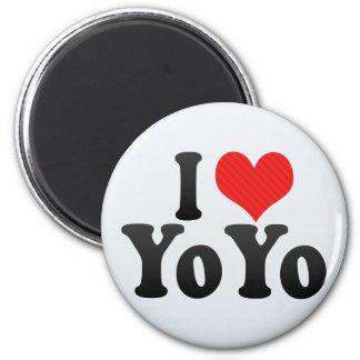 I Love YoYo Fridge Magnets