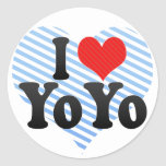 I Love YoYo Sticker