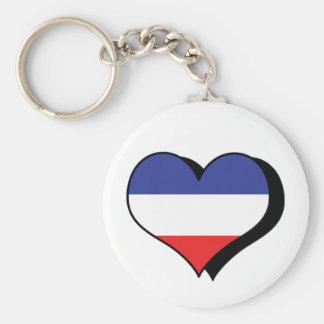 I Love Yugoslavia Keychain